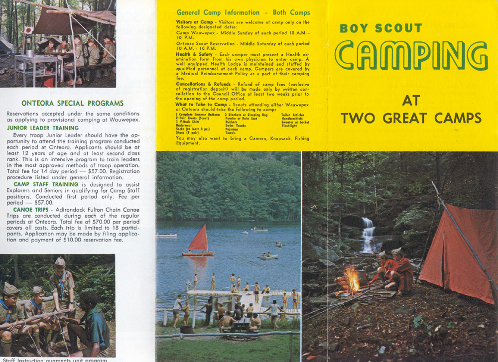 Onteora Scout Reservation: Miscellaneous Information